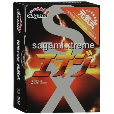 Презервативы со вкусом энергетического напитка SAGAMI Energy