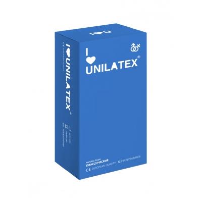 Презервативы классические Unilatex Natural Plain 12 шт