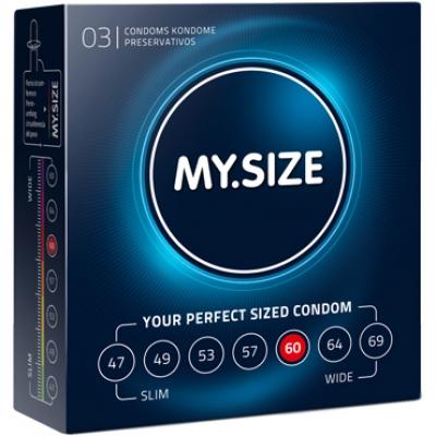 Презервативы увеличенные My.Size 60*193