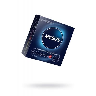 Презервативы увеличенные MY.SIZE № 3 ширина 60 мм