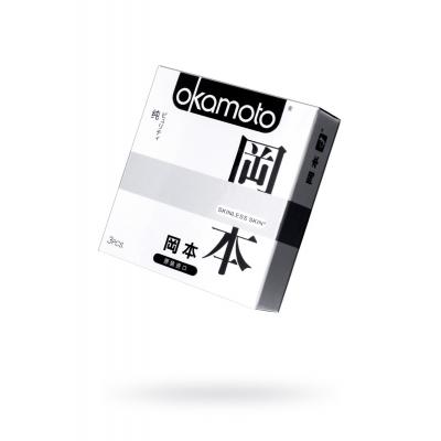 Презервативы Okamoto Skinless Skin Purity 3 шт