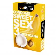 Презервативы оральные Domino Sweet Sex тропик