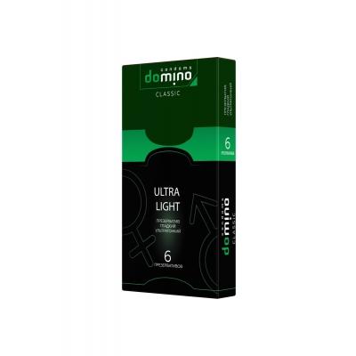 Презервативы ультратонкие DOMINO Ultra Light 6 шт