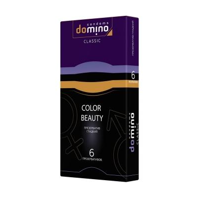 Презервативы цветные DOMINO Colour Beauty 6 шт