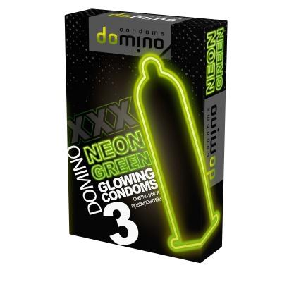 Презервативы светящиеся NEON Green 3 шт