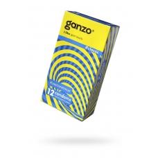 Презервативы классические с обильной смазкой GANZO 12 шт