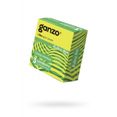 "Презервативы ""GANZO"" ULTRA THIN №3 (Супер тонкие)"