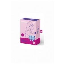 Набор менструальных чаш синий Satisfyer Menstrual Cup Feel Confident