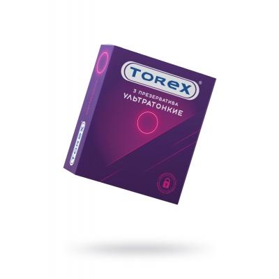 Презервативы ультратонкие Torex
