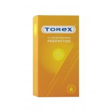 Презервативы ребристые Torex 12 шт
