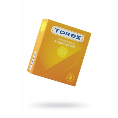 Презервативы ребристые Torex