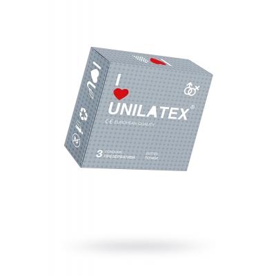 Презервативы в точку Unilatex Dotted 3 шт