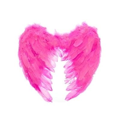 Крылья ангела розовые