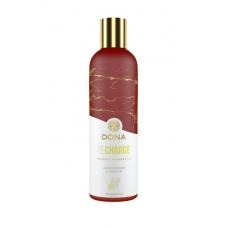 Массажное масло с эфирными маслами Dona и ароматом лемонграсса и имбиря