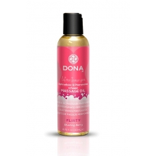 "Массажное масло с феромонами и афродизиаками ""Флирт"" DONA Scented Massage Oil"