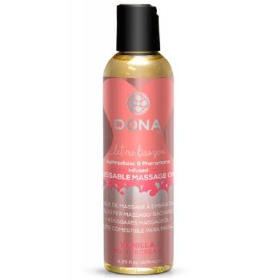 Массажное масло с феромонами DONA ванильный крем