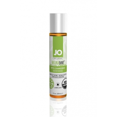 Cъедобный лубрикант с экстрактом ромашки JO Organic 30 мл