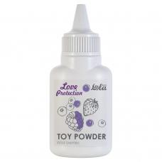 Пудра для игрушек Love Protection с ароматом лесные ягоды 15 г