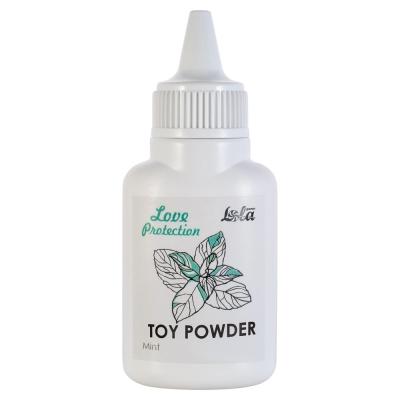 Пудра для игрушек Love Protection с ароматом мяты 30 г