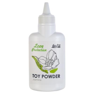 Пудра для игрушек Love Protection с ароматом жасмина 30 г
