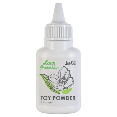 Пудра для игрушек ароматизированная Love Protection Жасмин 15г