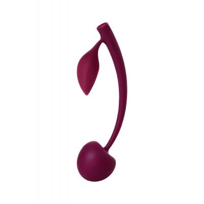 Вагинальный шарик JOS WILD CHERRY, силикон, вишневый, Ø 3 см