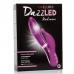Вибратор со стимуляцией клитора и подсветкой розовый Radiance