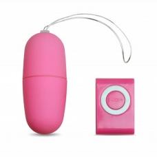 Виброяйцо с пультом управления розовое Джага