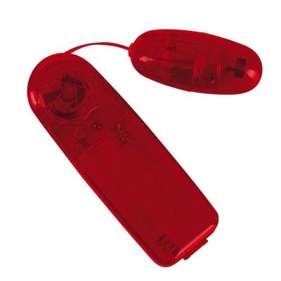 Виброяйцо с пультом красное Bullet in Red