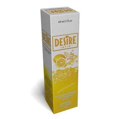 """Съедобная смазка """"Desire"""" цитрус 60мл"""