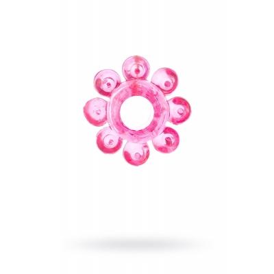 Эрекционное кольцо на пенис TOYFA, розовый