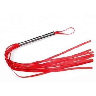 Плеть красная силикон, 55 см
