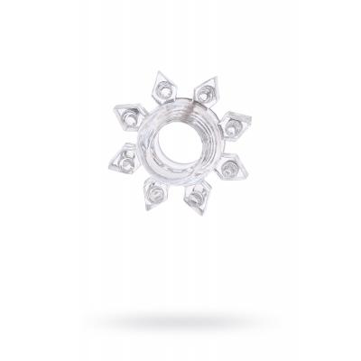 Эрекционное кольцо на пенис TOYFA, TPE, прозрачный