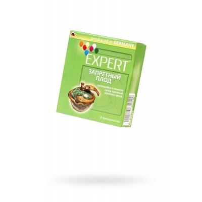 Презервативы Expert ''Запретный плод'', светящийеся в темноте, золотого цвета, супер прочные, 3шт
