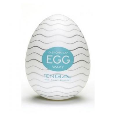 Мастурбатор яйцо TENGA Wavy