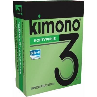 Презервативы KIMONO Контурные 3 шт