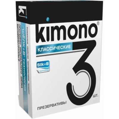 Презервативы KIMONO Классические 3 шт