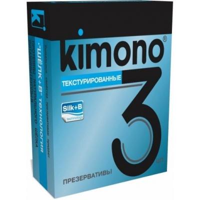 Презервативы KIMONO Текстуированные 3 шт